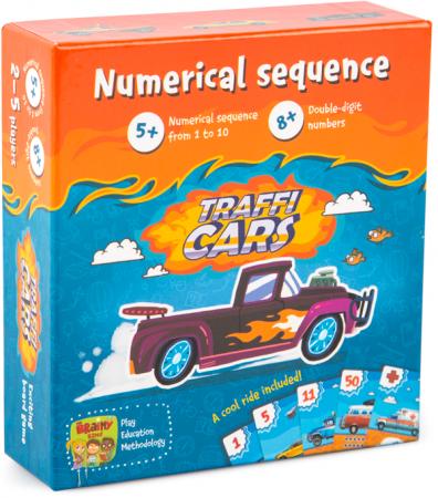 TRAFFICARS - Joc educativ Invatam numerele si antrenam memoria0