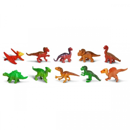 Tub 10 Figurine Pui Dinozauri [1]