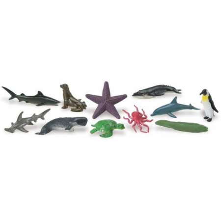 Tub 12 Figurine Animale si Fauna Oceanului1