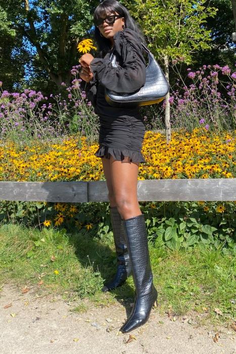 Cizme Squared Long Toe Shaft Boots [4]
