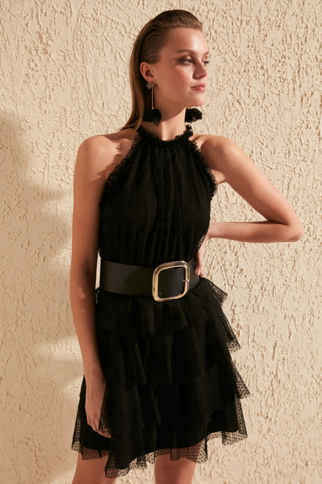 Rochie Dama Tulle Detailed [3]