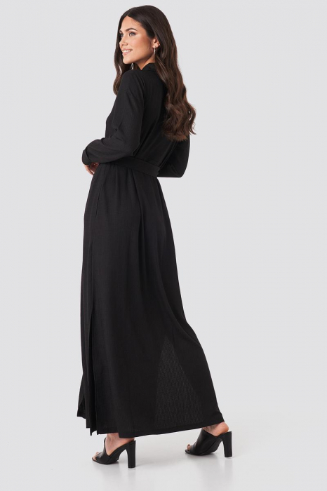 Rochie  Belted Shirt Maxi 1