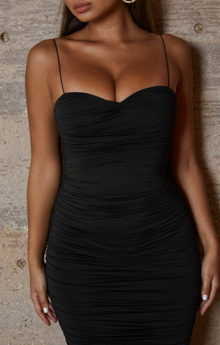 ROCHIE DROP A BOMBSHELL RUCHED MIDAXI 3