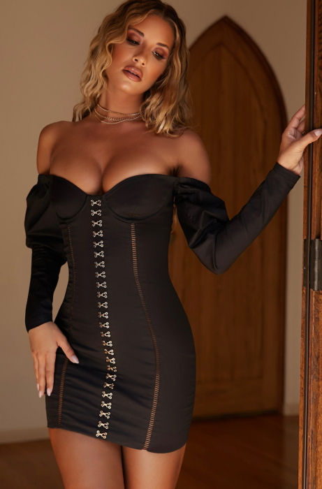 ROCHIE HOOKED ON YOU OFF THE SHOULDER PUFF SLEEVE UNDERWIRED [3]