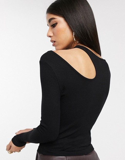 Bluza Cut Out Long Sleeve 4