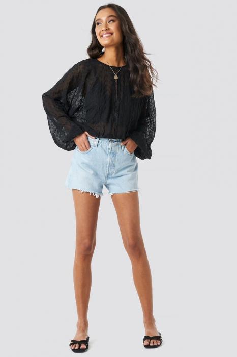 Bluza Lace-Up Back 3