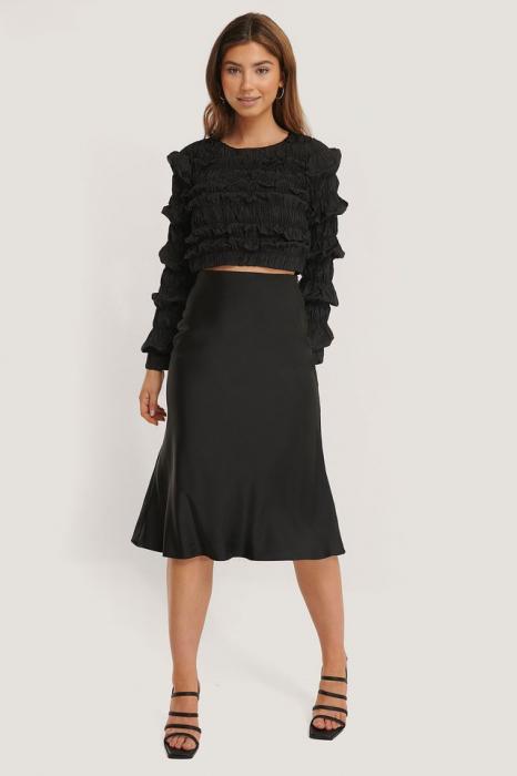 Bluza Shirred Long Sleeve 1