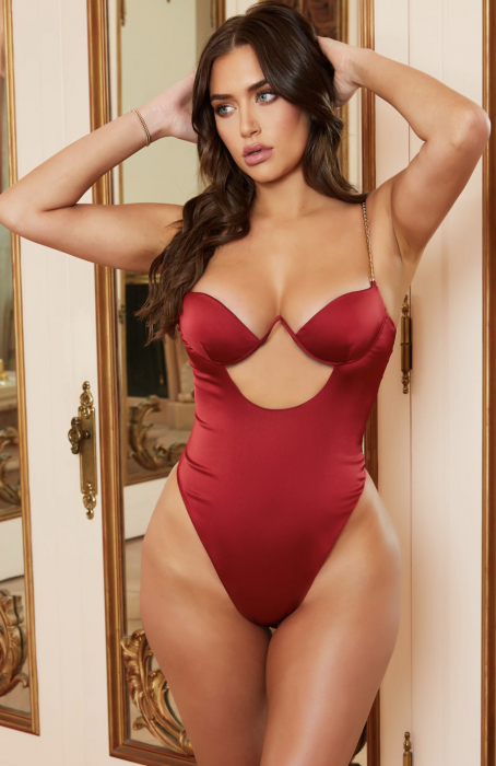 Body Chained Up Satin Cut Out [1]