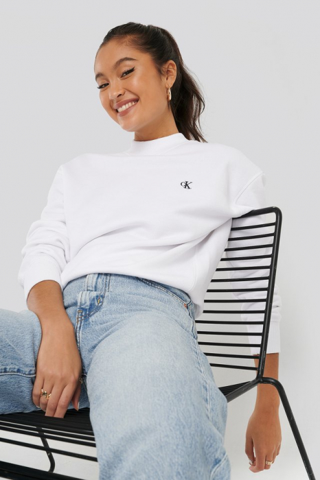 Hanorac Embroidery Regular Crew Neck Sweater [0]