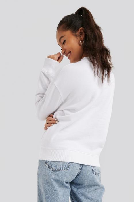 Hanorac Embroidery Regular Crew Neck Sweater [2]