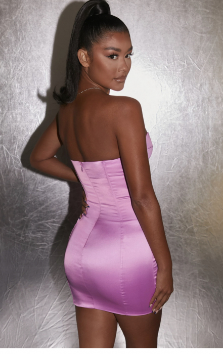 Rochie Can't Be Tamed Bustier Satin [1]