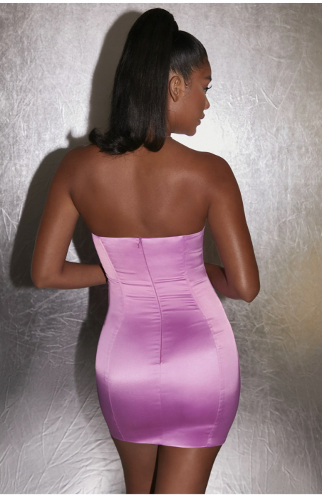 Rochie Can't Be Tamed Bustier Satin [5]