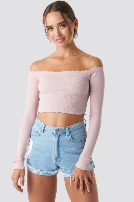 Bluza Long Sleeve Crop 0