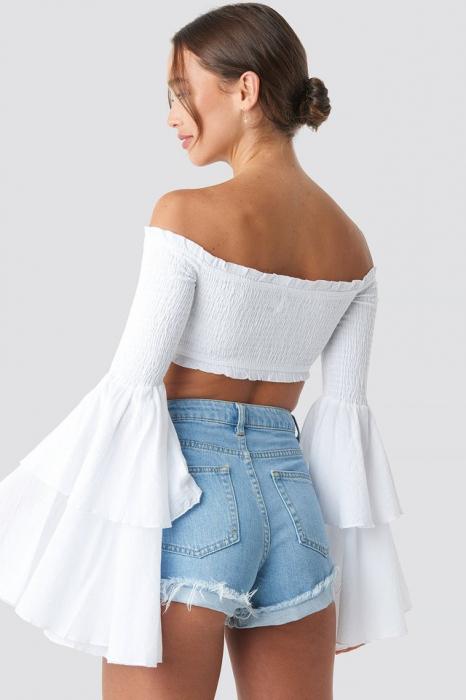 Bluza Off Shoulder Bell Sleeve 1