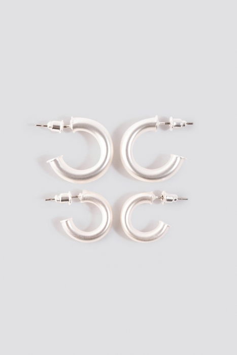Cercei Flat End Mini Hoops 0