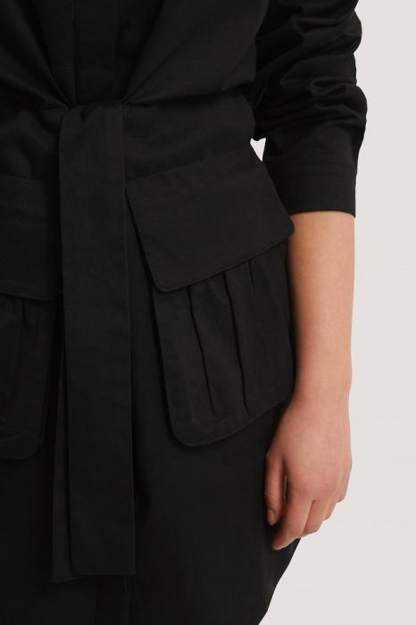 Rochie Tie Front Pocket 4
