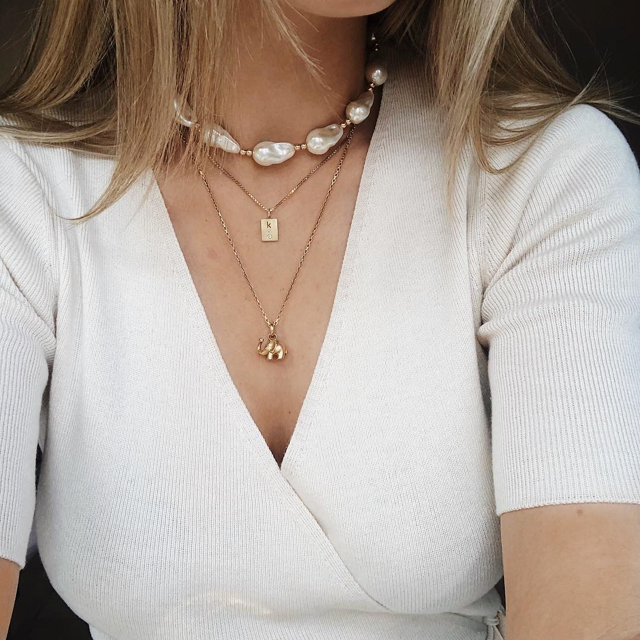 Colier Connected Pearl Necklace [2]