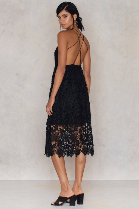 Crochet Strap Back Dress 1