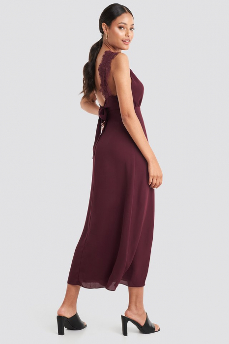 Rochie Thin Strap Lace Back [0]