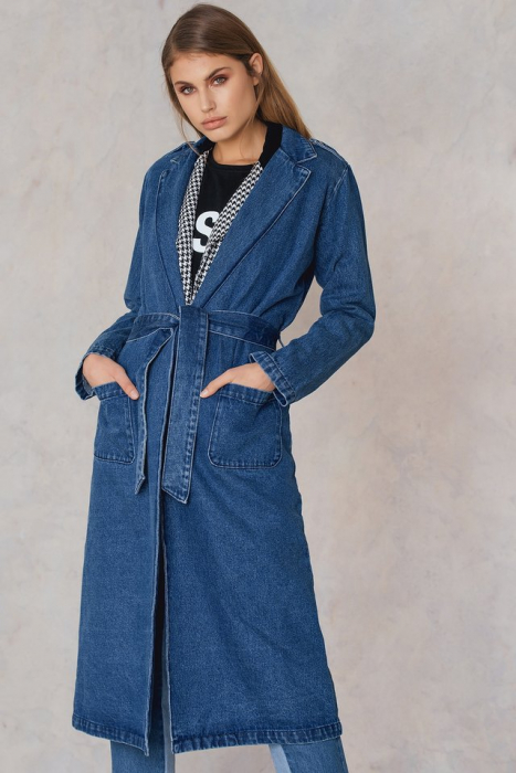 Denim Trenchcoat 1