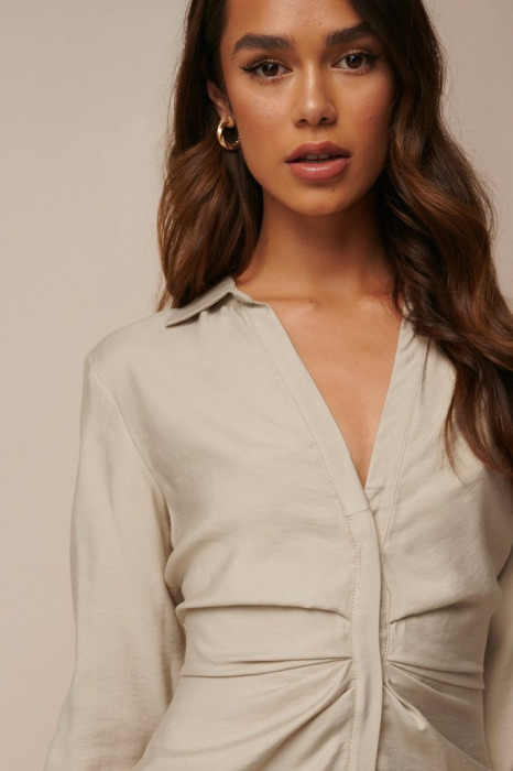 Rochie Draped Shirt [3]