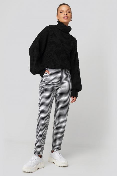 Pantaloni Checked Suit 0