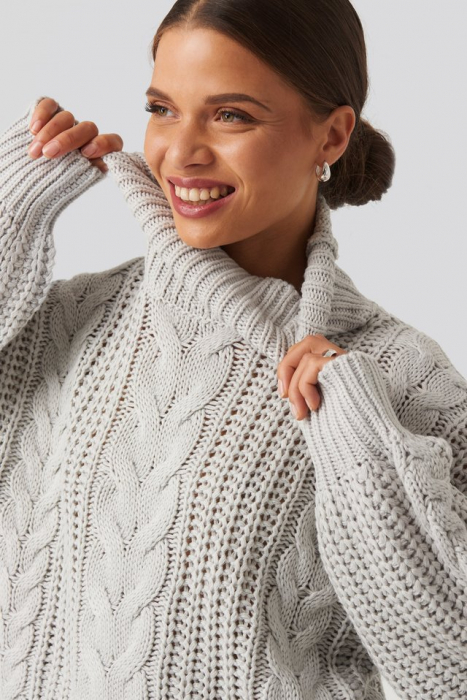 Pulover Chunky Cable Knit [3]