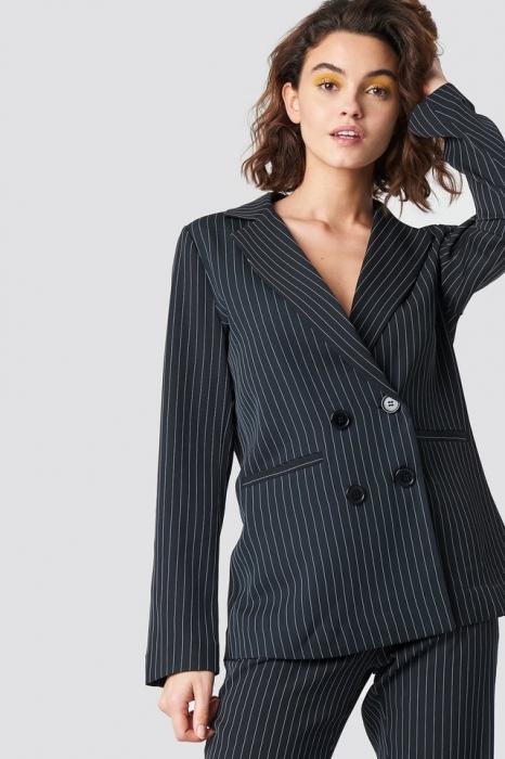 Sacou Pinstriped Jacket [0]