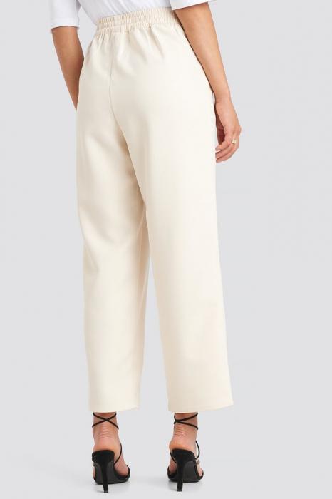 Pantaloni Elastic Waistseam Cropped [3]