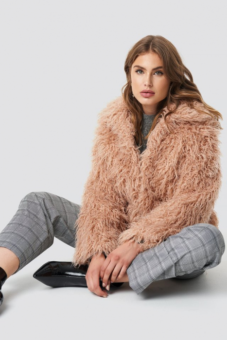 Jacheta Faux Fur Short [0]