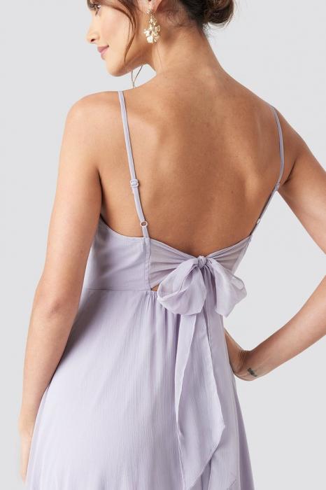 Rochie Tie Back Detail Maxi 1