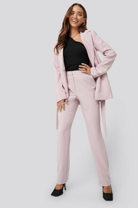 Pantaloni Straight Suiting 0
