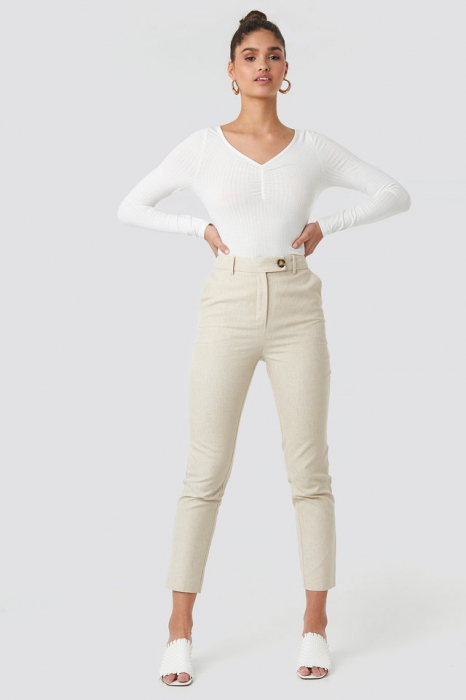 Bluza Front Ruched Ribbed [2]