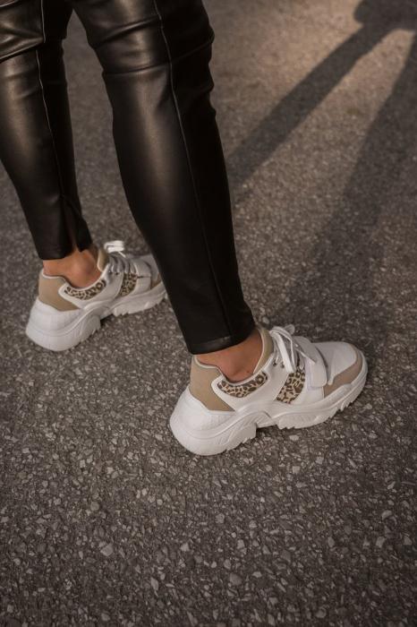 Pantofi Sport Chunky Burdock Detailed Sneakers [5]