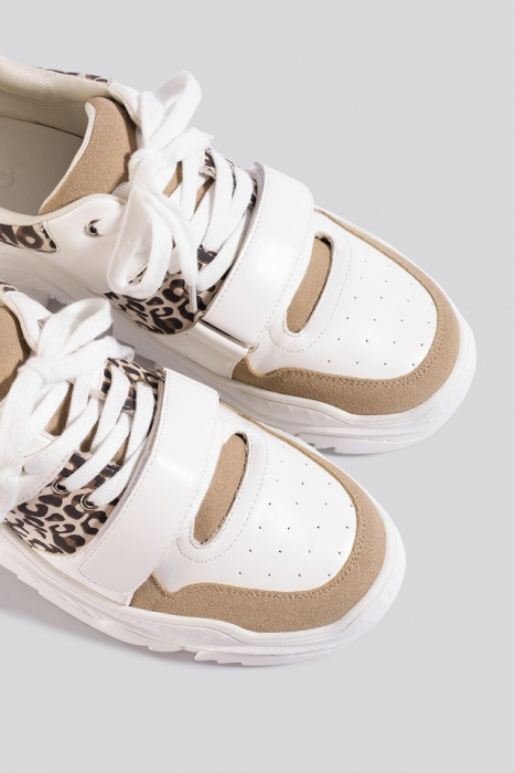 Pantofi Sport Chunky Burdock Detailed Sneakers [2]