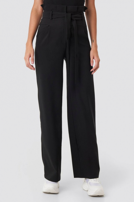 Pantaloni Highwaisted Tied Belt 2