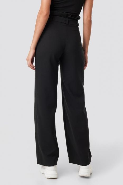 Pantaloni Highwaisted Tied Belt 1