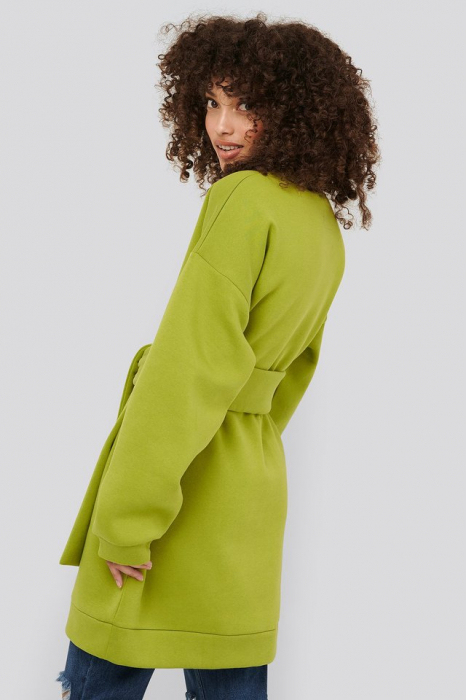 Bluza Oversized Waist Belt Sweater 1