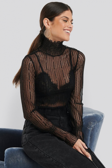 Top High Neck Lace [0]
