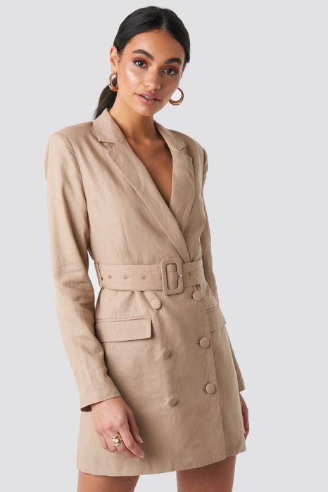 Rochie Linen Blazer 0