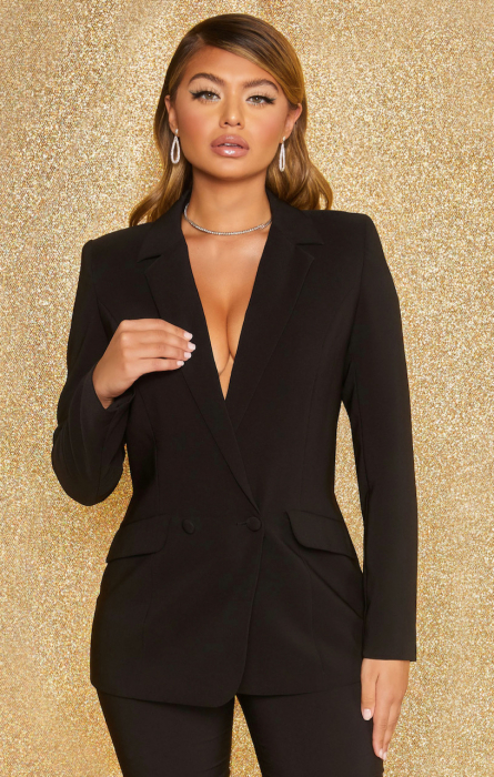 SACOU  BUSINESS AS USUAL DOUBLE BREASTED TAILORED 0