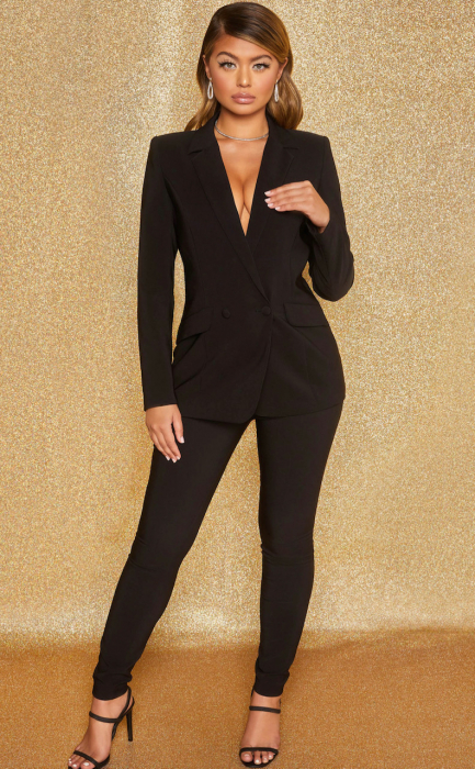SACOU  BUSINESS AS USUAL DOUBLE BREASTED TAILORED 2