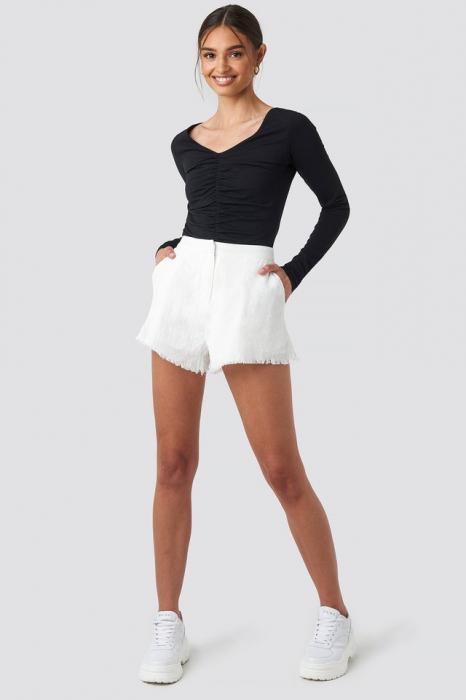 Pantaloni scurti din In Linen Look 2