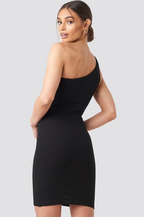 Rochie One Shoulder Mini [3]
