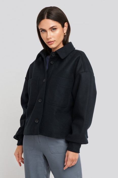 Jachetă  Overisized Big Sleeve 0