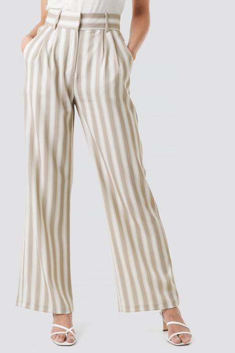 Pantaloni Tailored Striped 1