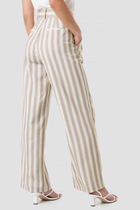 Pantaloni Tailored Striped 2
