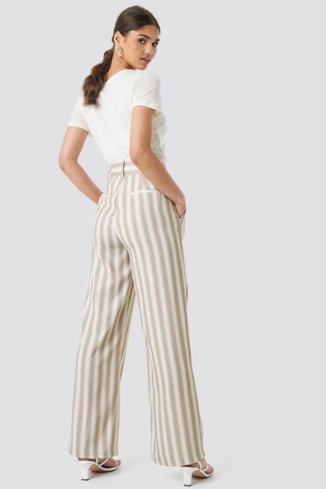 Pantaloni Tailored Striped 3