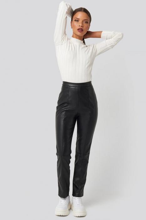 Pantaloni PU Leather Pants [0]