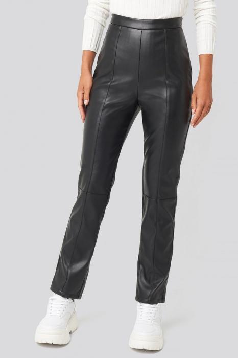 Pantaloni PU Leather Pants [1]